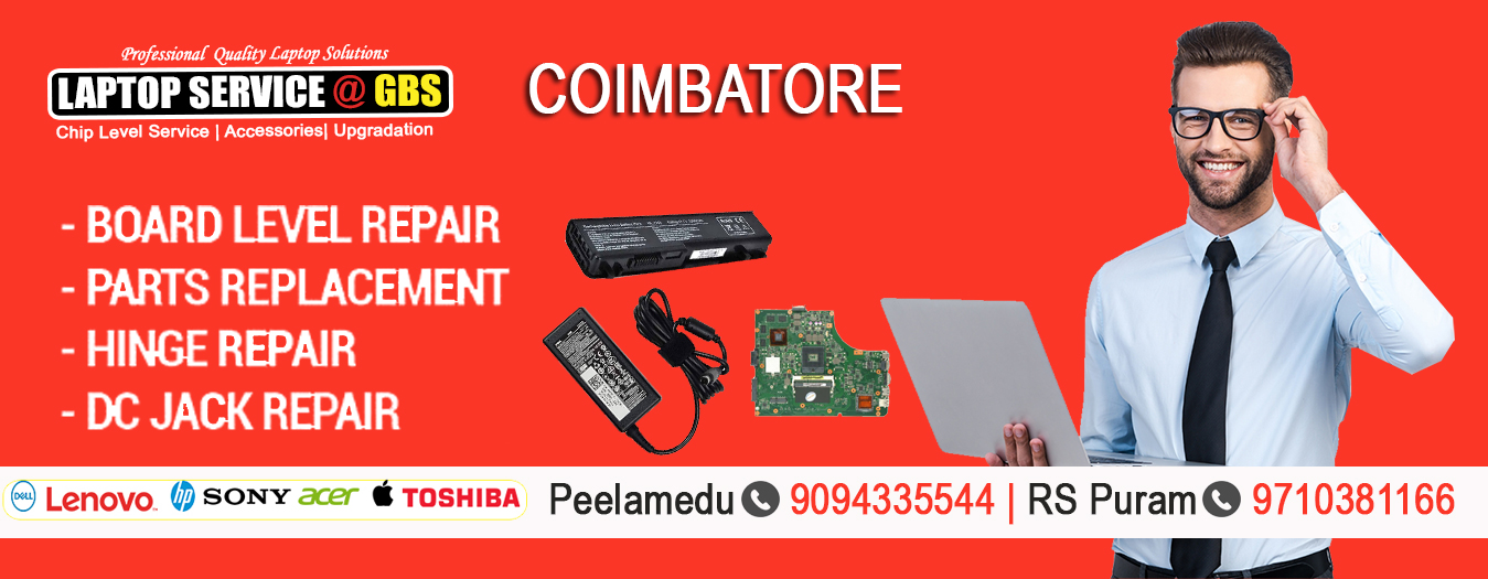 Laptop Service Center in Coimbatore
